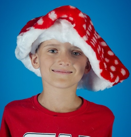 Карнавальная шапочка Гриб Мухомор 1