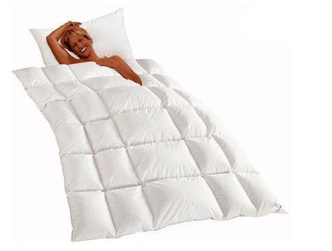 Одеяло пуховое всесезонное 200х200 Kauffmann Vario