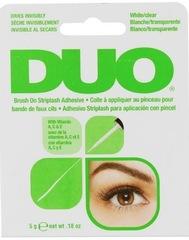 DUO Brush On Striplash Adhesive Clear бесцветный клей для накладных ресниц c кисточкой
