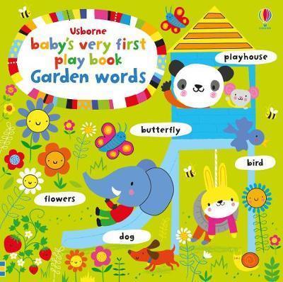 Kitab Baby's Very First Play book Garden Words | Fiona Watt