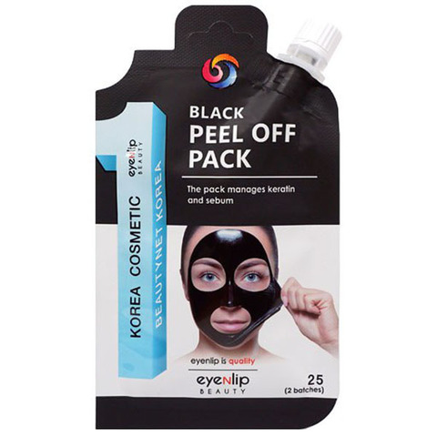 Очищающая маска-пленка Eyenlip Black Peel Off Pack