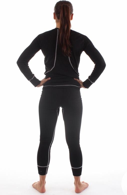 Женское термобелье Craft Multi Warm (1900251-2999) черное фото