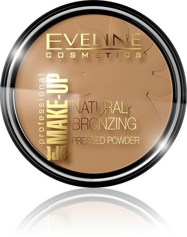 EVELINE ART PROFESSIONAL MAKE-UP NATURAL BRONZING БРОНЗИРУЮЩАЯ ПУДРА № 51