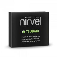 Набор для интенсивного восстановления и защиты волос Tsubaki pack