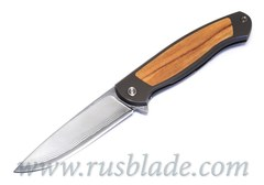 Cheburkov Scout laminated steel wood inlays