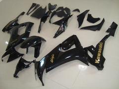 Комплект пластика для мотоцикла Kawasaki ZX-6R 09-12 Черный