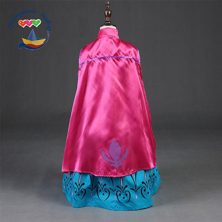 Холодное сердце платье Анны с накидкой