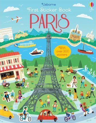 Kitab First Sticker Book Paris   James Maclaine