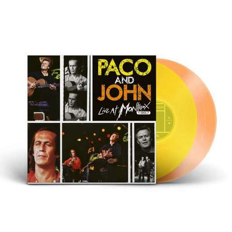 Paco De Lucia & John McLaughlin / Live At Montreux 1987 (Coloured Vinyl)(2LP)