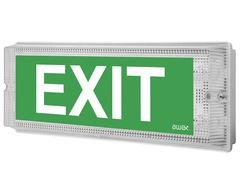 Настенные световые эвакуационные указатели выход IP65 EMX Awex
