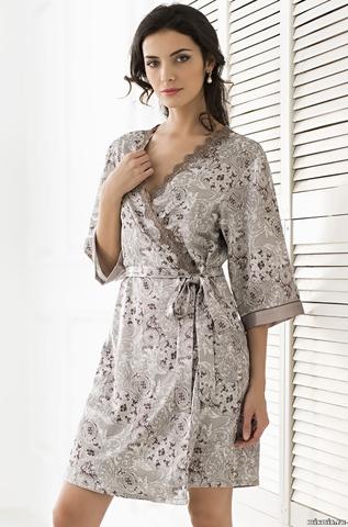 Короткий халат – кимоно Mia-Mella STELLA 9293