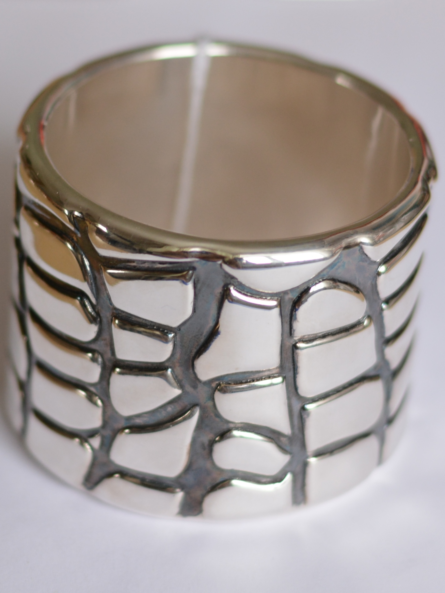 Камни (браслет из серебра)