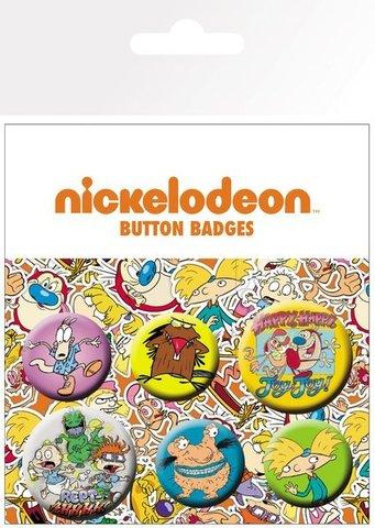Набор значков Nickelodeon