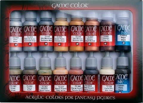 Game Color Leather & Metal (16) 17 ml.