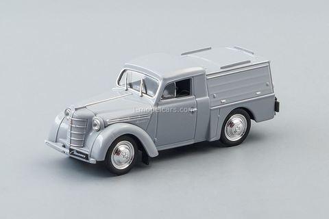 Moskvich-400 APA-7 1946-1954 gray 1:43 DeAgostini Auto Legends USSR #260