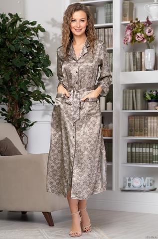 Длинный халат Mia-Amore Ajur 8779
