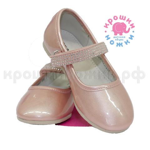 Туфли, розовые, глянец,