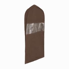 чехол для костюма длинный 130х60х10, minimalistic brauny
