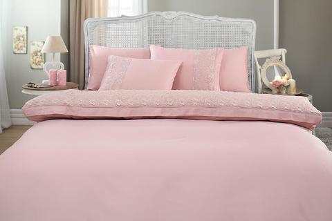 Постельное белье Gelin Home BELLA темно-розовый евро