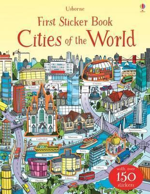 Kitab First Sticker Book Cities of the World | Hannah Watson