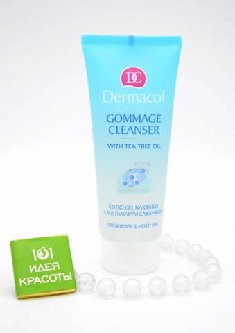 Dermacol GOMMAGE CLEANSER Очищающий гель-гоммаж