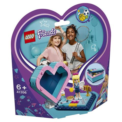 LEGO Friends: Шкатулка-сердечко Стефани 41356 — Stephanie's Heart Box — Лего Френдз Друзья Подружки