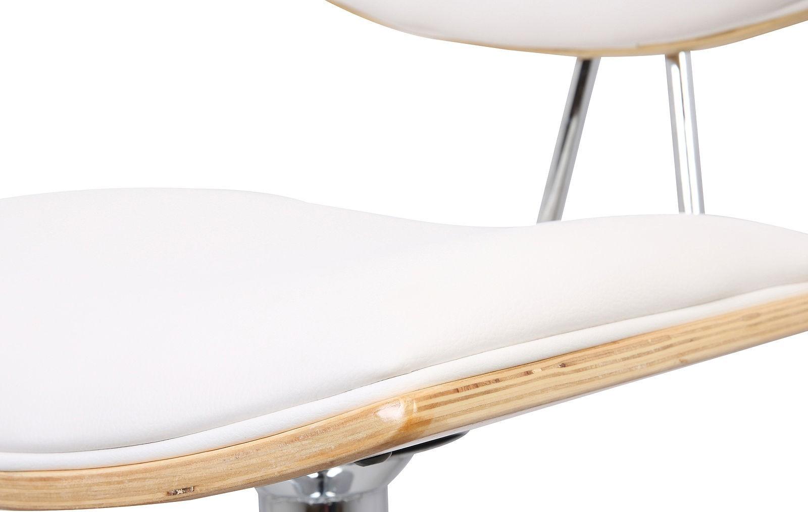 Барный стул JY1926 белый