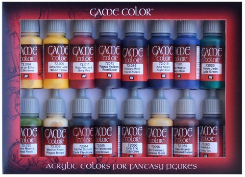 Game Color Advanced (16) 17 ml.