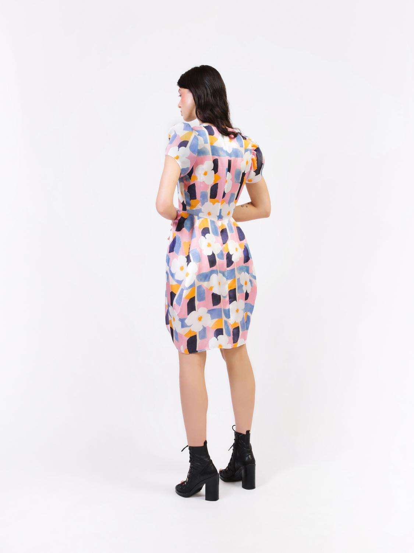 Платье принтованное