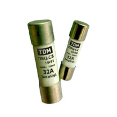 Плавкая вставка ПВЦ-С2 10х38 6А TDM