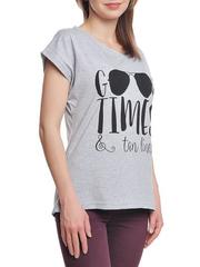 37662-4-3 футболка женская, серая