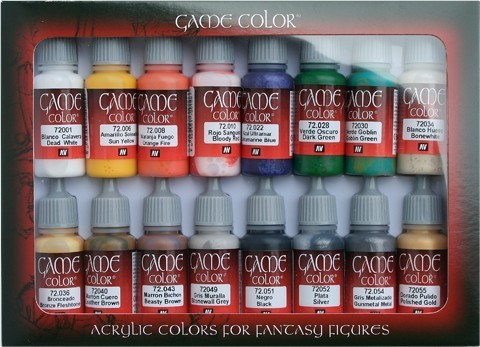 Game Color Introduction (16) 17 ml.
