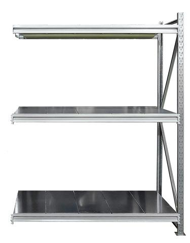 Усиленные металлические стеллажи (глубина 1000, высота 2500 мм)
