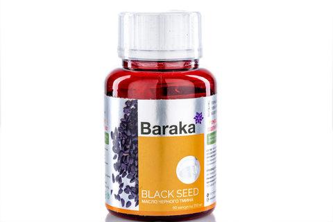 Baraka, BLACK SEED (Масло черного тмина в капсулах), 90кап