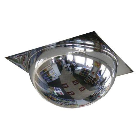 Купольное сферическое зеркало DL 600 мм в потолок Армстронг