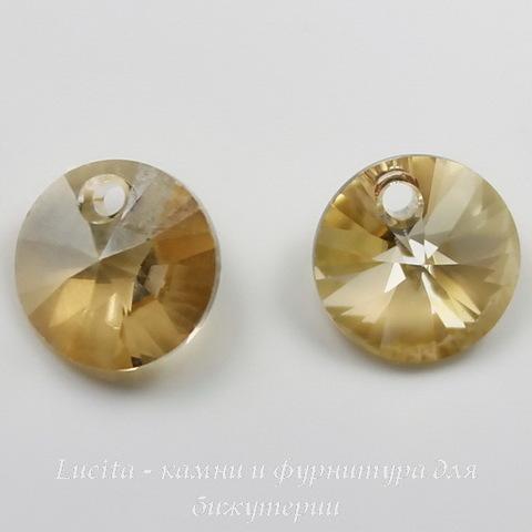 6428 Подвеска - Rivoli  Сваровски Crystal Golden Shadow (8 мм) ()
