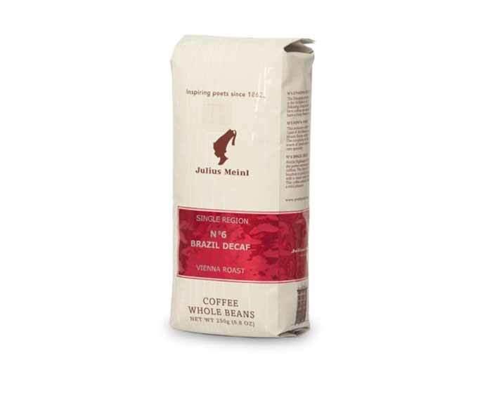 Кофе в зернах Julius Meinl Brazil Decaf №6, 250 г
