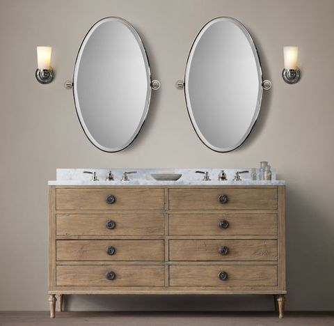 Maison Double Vanity with Drawers