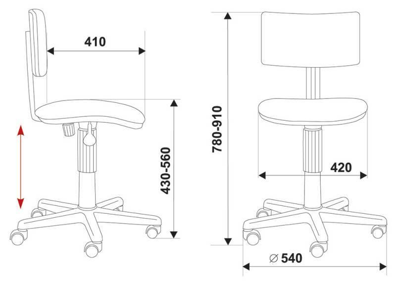 Кресло для персонала CH-200NX