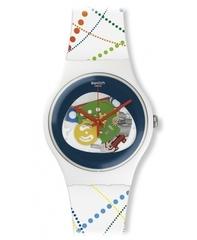 Наручные часы Swatch SUOW128 Dots in Rio