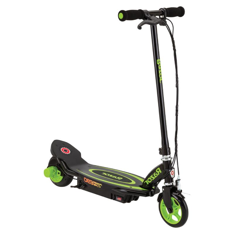 Электросамокат Razor Power Core E90 зеленый - Электросамокат детский, артикул: 719963