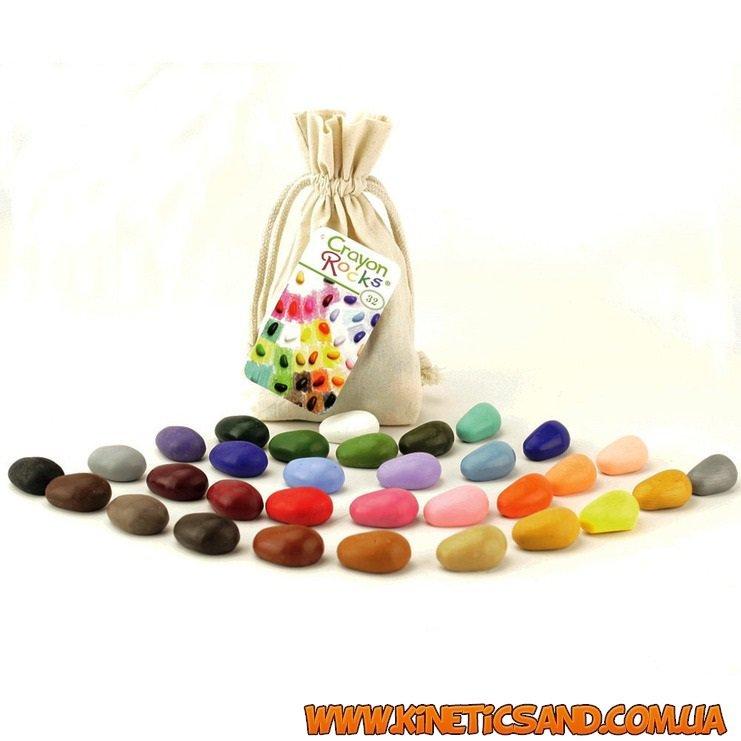 Восковые мелки (32 цвета) Crayon Rocks