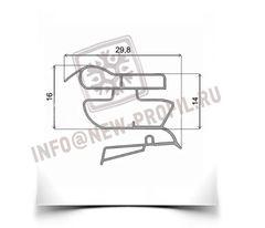 Уплотнитель 101*57 см для холодильника Индезит C138NFG (холодильная камера) Профиль 022