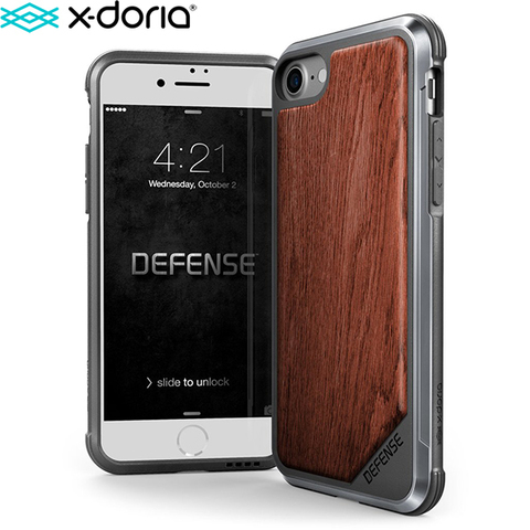 Чехол X-Doria Defense Lux для iPhone 7, iPhone 8 (4.7 дюйма) Wood
