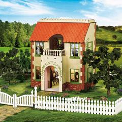 ЯиГрушка Деревянный домик для кукол