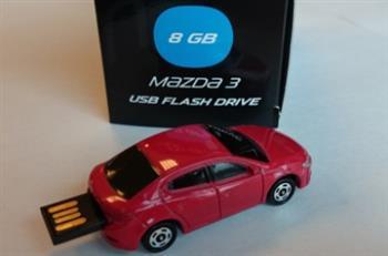 Флешка Mazda 3 Red