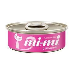 Mi-mi влажный корм для кошек и котят с омаром 0,80гр