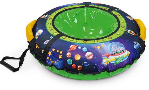 Тюбинг с круговым дизайном Ника ТБ3К 70/78 см Пришельцы