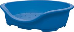 Лежанка для собак и кошек Marchioro PERLA 3, 66х46х25 см синяя