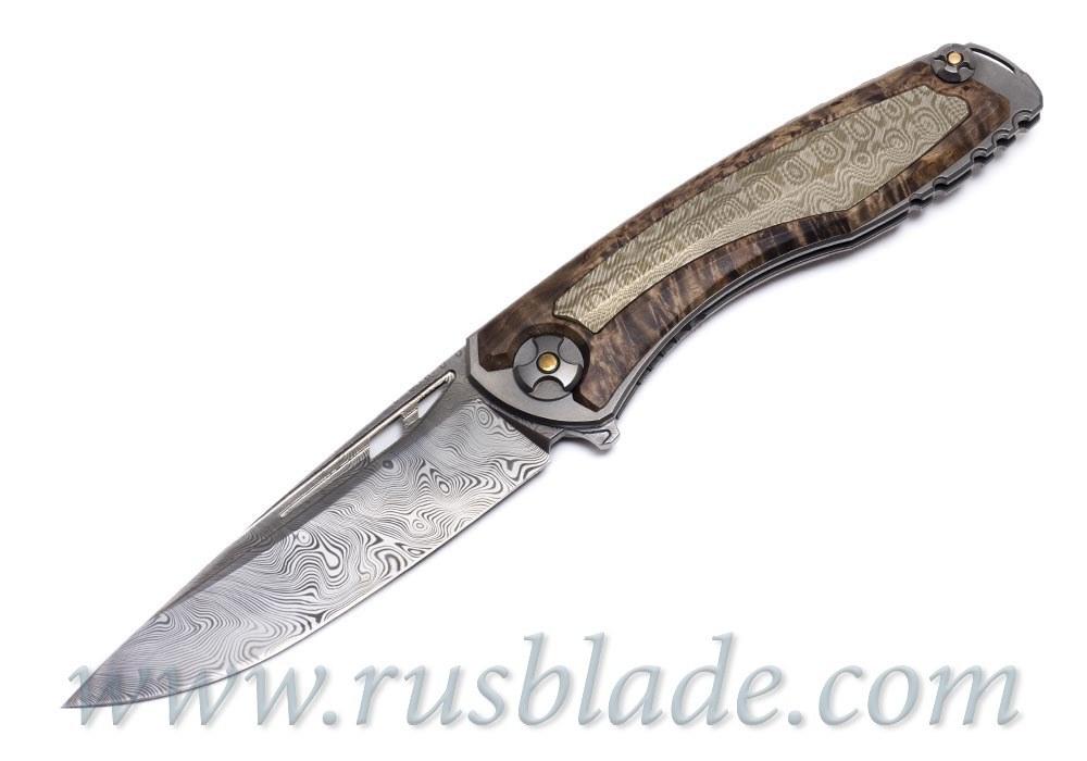 Svarn II knife by CultroTech Knives 3 of 3 Prototype